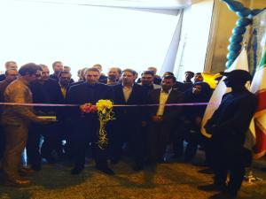 افتتاح رسمي نمايشگاه هاي گل و گياه ، گلخانه ،  فضاي سبز و خدمات و مبلمان شهري